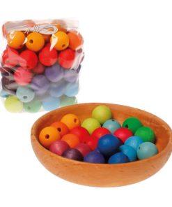 60 wooden beads - Grimm's2