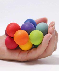 Rainbow beads grasper - Grimm's