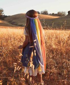Rainbow veil - Sarah's Silks