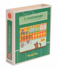 Restaurant pretend play set - Moulin Roty