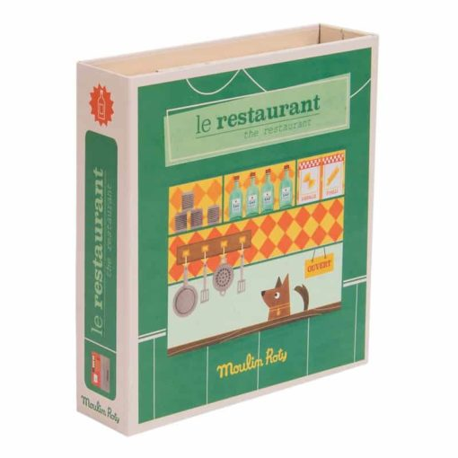 Restaurant pretend play set - Moulin Roty