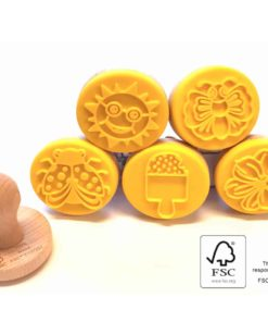 Ailefo sunshine stories - stamps modelling clay from Denmark