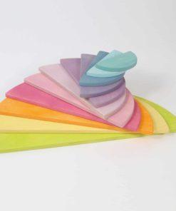 Pastel semi circles - Grimm's