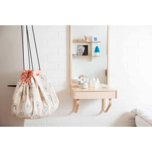 Rainbow play bag : Play mat and storage bag - Play & Go6