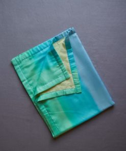 Silk baby blanket sea glass - Sarah's Silks