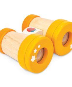 Multi-sensory pretend play toy Wooden binoculars – Le Toy Van