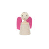 Wooden musical guardian angelin pink - SINA Spielzeug