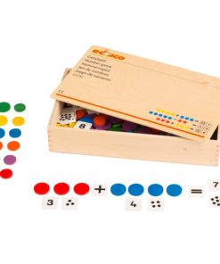 Wooden number game / High quality wooden educational toy - Educo