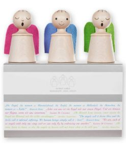 Wooden musical toy angels in dulci jubilo - SINA Spielzeug