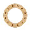 Birthday ring in natural wood / Handmade wooden Waldorf celebrations ring - Glückskäfer