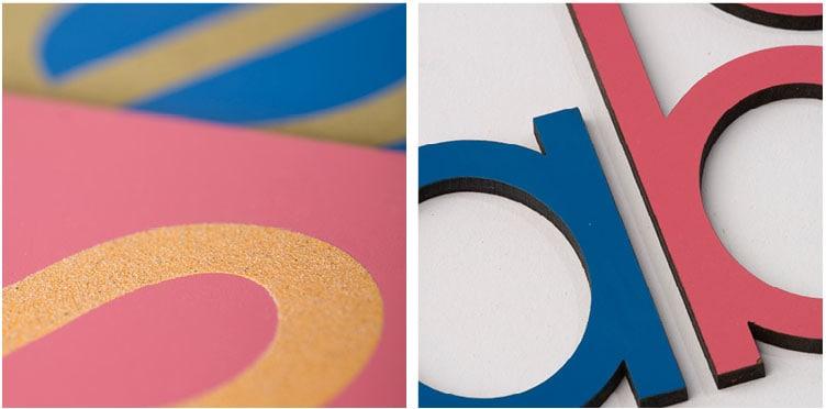 Montessori Language materials_Nienhuis Montessori sandpaper letters & movable alphabet