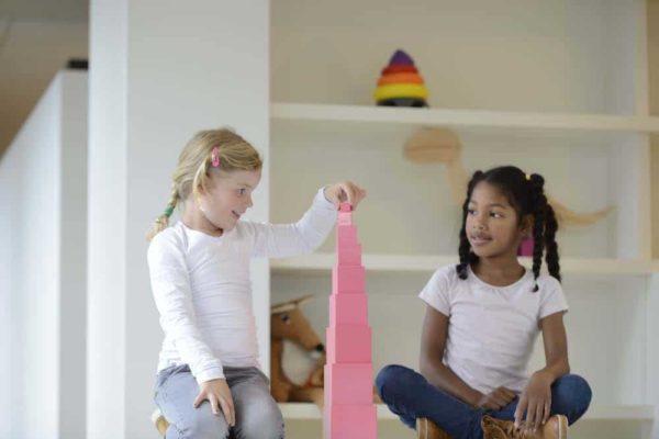 Montessori prepared environment Must-Have Montessori Materials For Home Learning_Nienhuis Montessori PInk Tower
