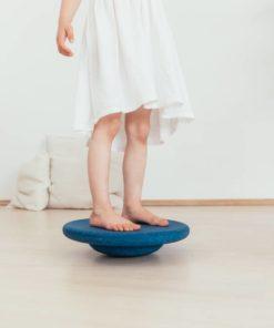 fabriqué en Allemagne Planche d'équilibre bleu de nuit - Stapelstein