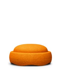 Pierre à empiler en orange - Stapelstein fabriqué en Allemagne