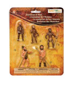 Evolution of Man figurines set - Safari Ltd story of evolution learning toy