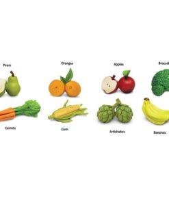 Fruits & Vegetables TOOB / Realistic miniature food figurines Montessori learning toy- Safari Ltd