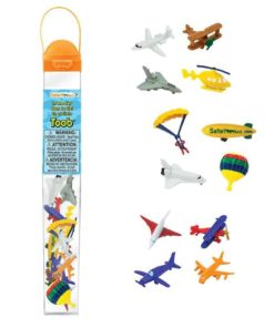 In the sky TOOB / Realistic miniature aviation vehicles Montessori learning toy- Safari Ltd
