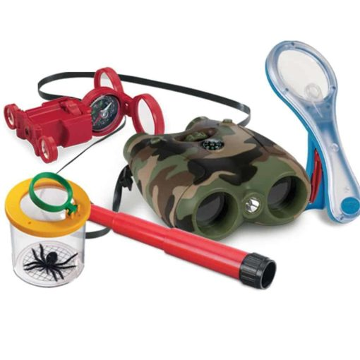 Insect collection observation jar and learning toy for the young explorer's toolkit - Safari Ltd
