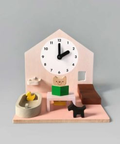 Make my day / Wooden activity dollhouse & daily routine learning toy - Moon Picnic