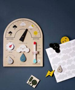 My Weather Station / Educational interactive meteorology toy for children - Moon Picnic