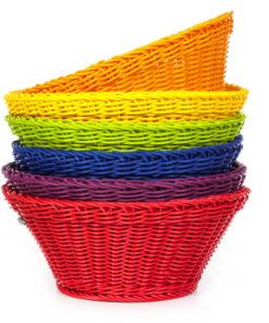 Round large toy basket - SINA Spielzeug