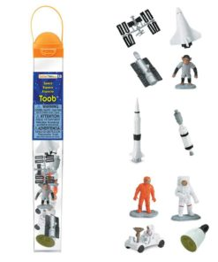 Space TOOB / Realistic miniature space themed figurines Montessori learning toy- Safari Ltd