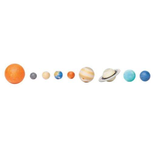 The Solar System : Realistic miniature solar system figurines Montessori learning toy- Safari Ltd2