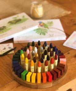 Porte-crayons Stockmar en bois fait main - Threewood