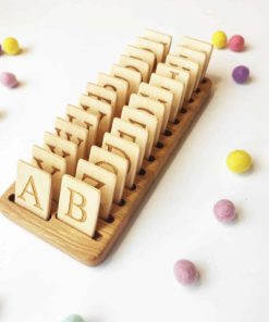 Wooden letters sets English - Threewood