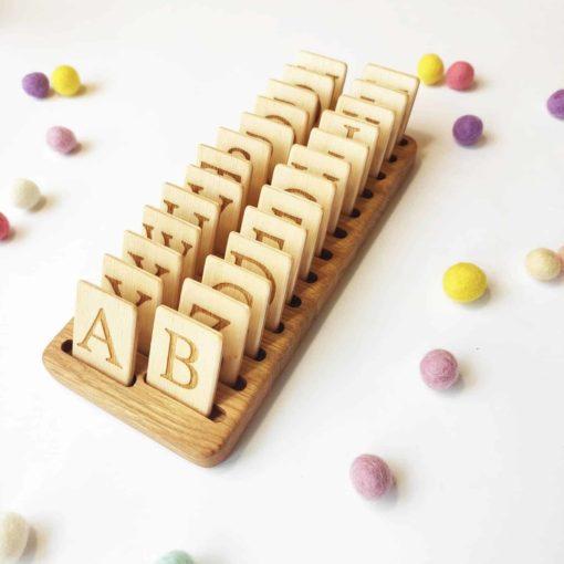 Jeux de lettres en bois anglais - Threewood