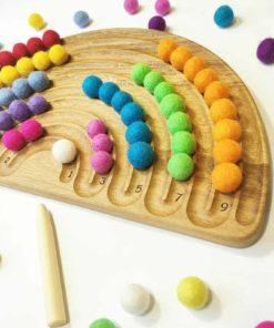 jouet d'apprentissage inspiré Montessori - Threewood