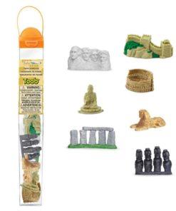 World Landmarks TOOB / Realistic miniature landmark figurines Montessori learning toy- Safari Ltd