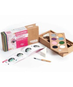 Bio face paint kit for children in enchanted worlds colours - Namaki Cosmetics