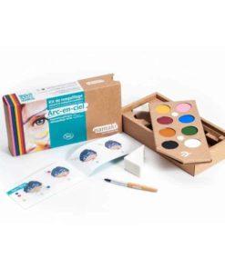 Bio face paint kit: rainbow - Namaki