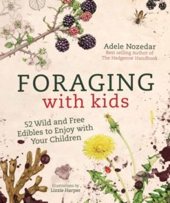 guide safe family foraging Book foraging with kids by Adele Nozedar