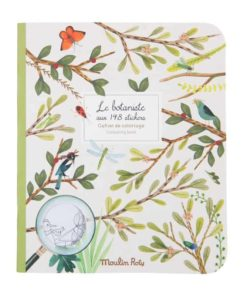Botanist sticker activity book - Moulin Roty Le Jardin du Moulin
