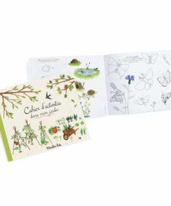 Le Jardin du Moulin Garden activity book - Moulin Roty