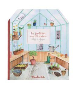 Le Jardin du Moulin Gardener sticker book - Moulin Roty