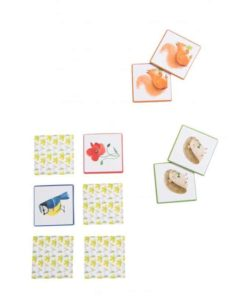 Nature-themed memory game - Moulin Roty Le Jardin du Moulin