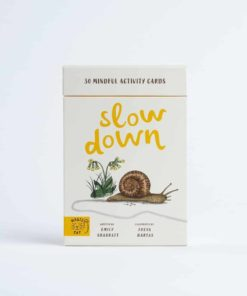 Slow down 30 mindful nature activity cards by Rachel Williams / Games inspired by nature