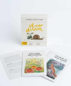 Slow down 30 mindful nature activity cards by Rachel Williams