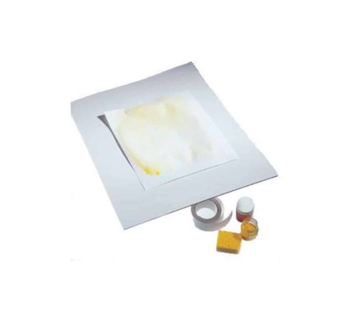 Biodegradable plastic painting board large and small Waldorf arts supplies - Mercurius