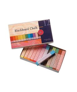 Waldorf blackboard chalk 12 pastel colours / Waldorf blackboard drawing- Mercurius by Stockmar and Lyra
