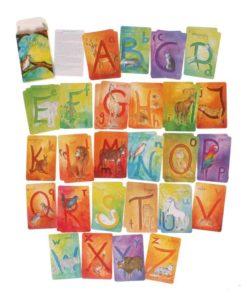 English alphabet card game - Grimm's