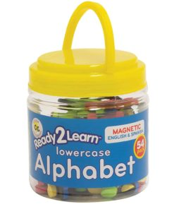 Magnetic lower case letters set English and Spanish Arts & Crafts