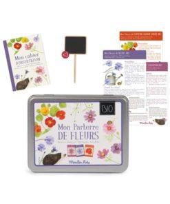 Moulin Roty gardening organic flower kit Children's nature activity set