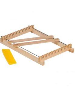 Wooden small weaving frame (loom) / Waldorf handwork tools - Glückskäfer