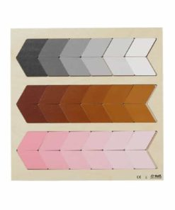 Puzzle colour nuance grey brown pink - Rolf