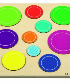 Relief puzzle discover sizes - bubbles - Rolf