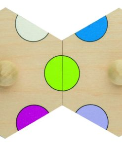 Insert puzzle: colours - Rolf